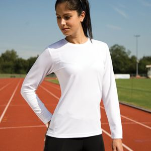 Women's Spiro quick-dry long sleeve t-shirt Thumbnail