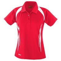 Women's Spiro team spirit polo Thumbnail