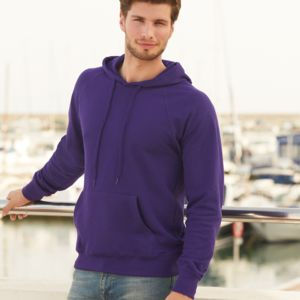 Fruit of the Loom Lightweight Hooded Sweatshirt Thumbnail