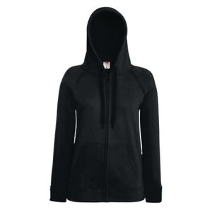 Fruit of the Loom Lady Fit Lightweight Zip Hooded Sweatshirt Thumbnail