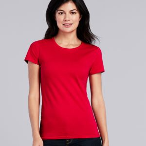 Gildan Ladies Premium Cotton® T-Shirt Thumbnail