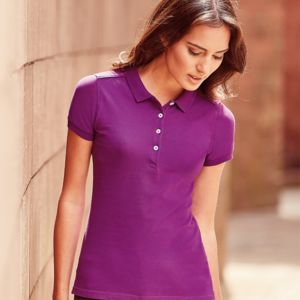 Russell Ladies Stretch Polo Shirt Thumbnail