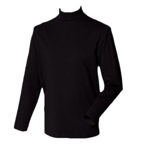 Henbury Long Sleeve Roll Neck Top Thumbnail
