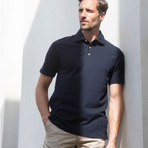 Henbury Classic Heavy Cotton Piqué Polo Shirt Thumbnail