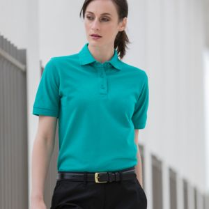 Henbury Lds Poly/Cotton Polo Thumbnail