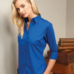 Premier Lds 3/4 Slv Pop. Blouse Thumbnail
