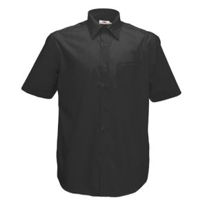 Fruit of the Loom Short Sleeve Poplin Shirt Thumbnail