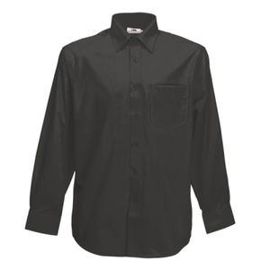 Fruit of the Loom Long Sleeve Poplin Shirt Thumbnail