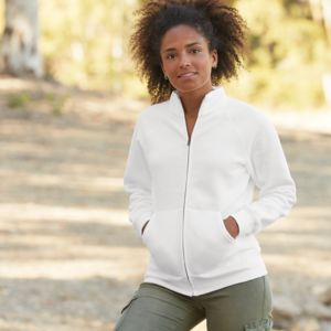 Fruit of the Loom Premium Lady Fit Sweat Jacket Thumbnail