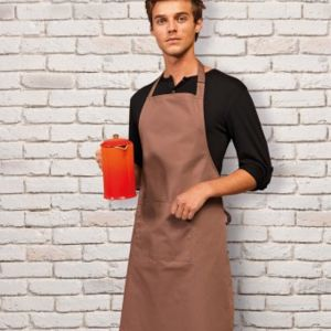 Premier 'Colours' Bib Apron with Pocket Thumbnail