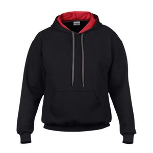 Gildan Heavy Blend™ Contrast Hooded Sweatshirt Thumbnail