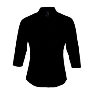 SOL'S Ladies Effect 3/4 Sleeve Fitted Shirt Thumbnail