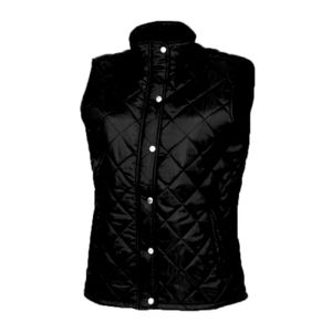 Front Row Ladies Diamond Quilted Gilet Thumbnail