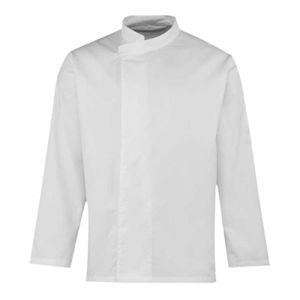 Premier Culinary Long Sleeve Pull On Chef's Tunic Thumbnail