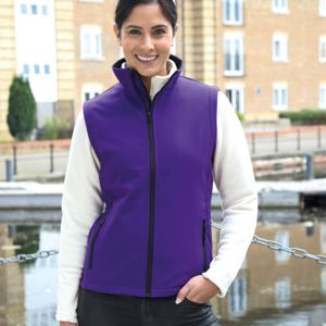 Result Core Ladies Printable Soft Shell Bodywarmer Thumbnail