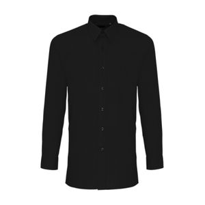 Premier Long Sleeve Fitted Poplin Shirt Thumbnail