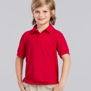 Gildan Kids DryBlend® Double Piqué Polo Shirt Thumbnail