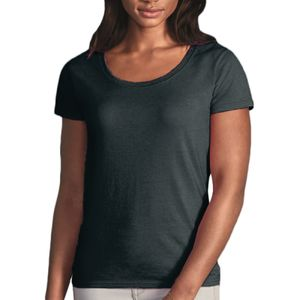 Gildan Ladies SoftStyle® Deep Scoop T-Shirt Thumbnail