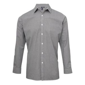 Premier Gingham Long Sleeve Shirt Thumbnail