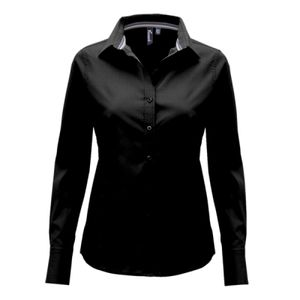 Premier Ladies Long Sleeve Fitted Friday Shirt Thumbnail