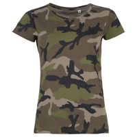 SOL'S Ladies Camo T-Shirt Thumbnail