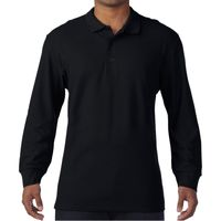 Gildan L/S Double Piq. Cotton Polo Thumbnail